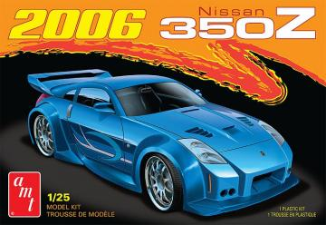 2006er Nissan 350Z 2T · AMT 2220 ·  AMT/MPC · 1:25