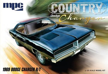 1969er Dodge Country Charger · AMT 2878 ·  AMT/MPC · 1:25