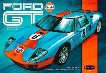 2006er Ford GT Snap-Kit · AMT 2955 ·  AMT/MPC · 1:25