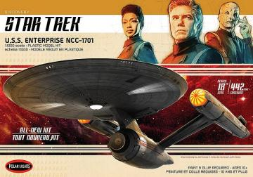 Star Trek Discovery USS Enterprise · AMT 2973 ·  AMT/MPC · 1:1000