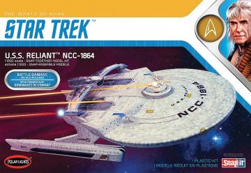 Star Trek USS Reliant, Wraht of Kahn Edition · AMT 2975 ·  AMT/MPC · 1:1000