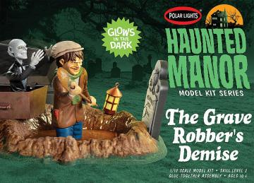 Haunted Manor: The grave Robbers Demise · AMT 2976 ·  AMT/MPC · 1:12
