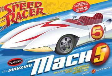 Speed Racer Mach V · AMT 2981 ·  AMT/MPC · 1:25