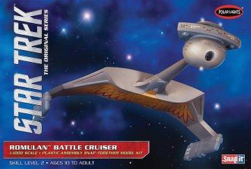 Star Trek Romulan Battle Cruiser · AMT 3897 ·  AMT/MPC · 1:1000