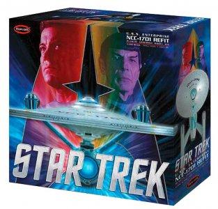 Star Trek U.S.S. Enterprise Refit · AMT 3949 ·  AMT/MPC · 1:350