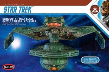 Star Trek Klingon K't'inga · AMT 3950 ·  AMT/MPC · 1:350