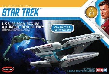 Star Trek U.S.S. Grissom / Klingon Bird of Prey · AMT 3957 ·  AMT/MPC · 1:1000