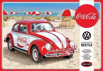 Volkswagen Käfer Snap, Coca-Cola · AMT 3960 ·  AMT/MPC · 1:25