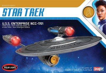 Star Trek Discovery USS Enterprise - Snap-Kit · AMT 3971 ·  AMT/MPC