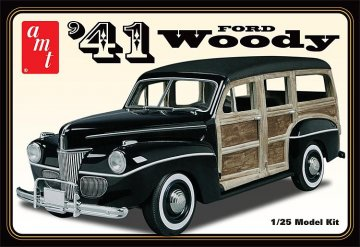 1941er Ford Woody · AMT 591906 ·  AMT/MPC · 1:25