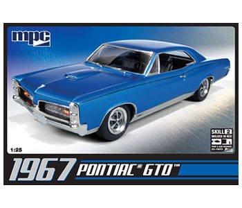 1967er Pontiac GTO. · AMT 592710 ·  AMT/MPC · 1:25
