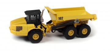 Muldenkipper, gelb · AMT 7101 ·  AMT/MPC · 1:87