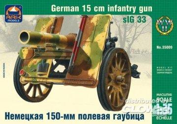 German 15cm infantry gun sIG 33 · ARK 35009 ·  ARK Models · 1:35