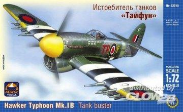 Hawker Typhoon Mk.IB tank buster · ARK 72015 ·  ARK Models · 1:72