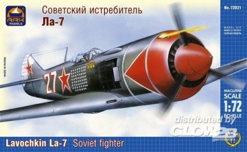 Lavochkin La-7 Russian fighter · ARK 72021 ·  ARK Models · 1:72