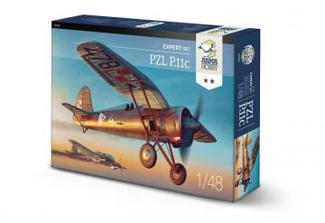 PZL P.11c - Expert Set · ARM 40001 ·  Arma Hobby · 1:48
