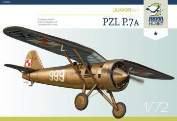 PZL P.7a Model Kit · ARM 70008 ·  Arma Hobby · 1:72