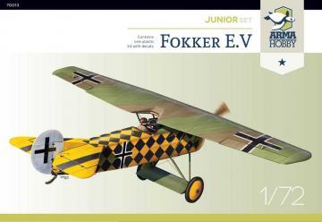 Fokker E.V Junior set · ARM 70013 ·  Arma Hobby · 1:72