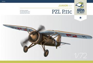 PZL P.11c Junior Set · ARM 70016 ·  Arma Hobby · 1:72