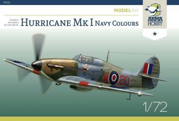 Hurricane Mk I Navy Colours - Model Kit · ARM 70022 ·  Arma Hobby · 1:72