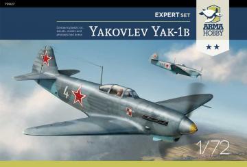Yakovlev Yak-1b - Expert Set · ARM 70027 ·  Arma Hobby · 1:72