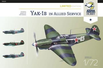 Yak-1b Allied Fighter - Limited Edition · ARM 70029 ·  Arma Hobby · 1:72