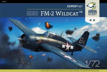 FM-2 Wildcat - Expert Set · ARM 70031 ·  Arma Hobby · 1:72