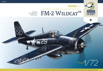 FM-2 Wildcat - Model Kit · ARM 70033 ·  Arma Hobby · 1:72