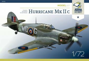 Hurricane Mk IIc - Model Kit · ARM 70036 ·  Arma Hobby · 1:72