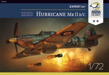 Hurricane Mk IIb/c Expert Set · ARM 70042 ·  Arma Hobby · 1:72