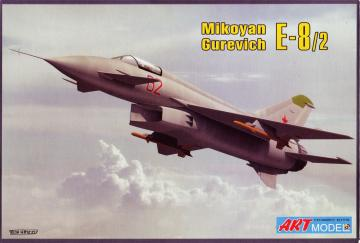 Mikoyan Ye-8 experimental fighter · ARM 7209 ·  Art Model · 1:72