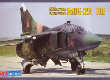Mikoyan MiG-23UB training aircraft · ARM 7210 ·  Art Model · 1:72