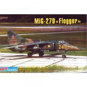 Mikoyan MiG-27M/D ground attack aircraft · ARM 7216 ·  Art Model · 1:72