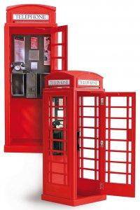 Londoner Telefonzelle · ART 0320 ·  Artesania Latina · 1:10