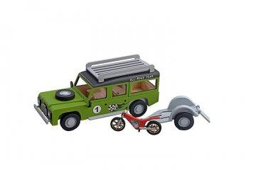 Jeep mit Anhänger und Motorrad · ART 0521 ·  Artesania Latina