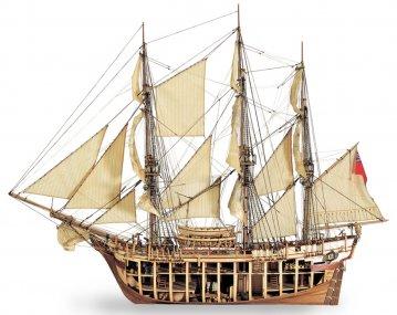 HMS Bounty · ART 2810 ·  Artesania Latina · 1:48