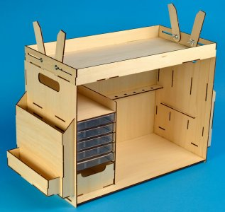 Werkzeugbox, Bausatz aus Holz · ART 7648 ·  Artesania Latina