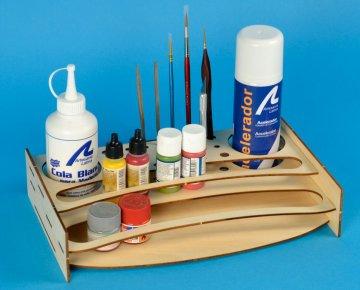 Farb-Organizer, Bausatz aus Holz · ART 7650 ·  Artesania Latina
