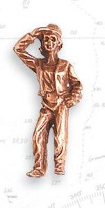 Figur, Ausguck, 27 mm, 2 Stück, Metall · ART 8740 ·  Artesania Latina