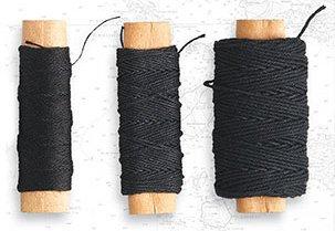 Takelgarn, Schwarz, 0,75mm, 20m · ART 8813 ·  Artesania Latina