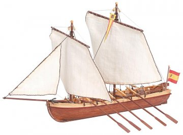 Kapitäns-Boot der Santisima Trinidad · ART 9014 ·  Artesania Latina · 1:150