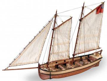 Langboot der HMS Endeavo · ART 9015 ·  Artesania Latina · 1:50