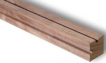 Holzstange, amerikanische Walenuss, 12x12x1000mm · ART 9511 ·  Artesania Latina
