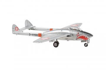 Vampire DH100 Mk6 J-1156 Sharkmouth · ARW 881010 ·  Arwico Collector Edition · 1:72