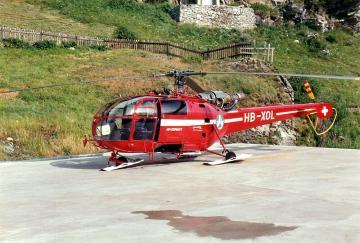 Alouette III - Air Zermatt HB-XOL · ARW 881521 ·  Arwico Collector Edition · 1:72