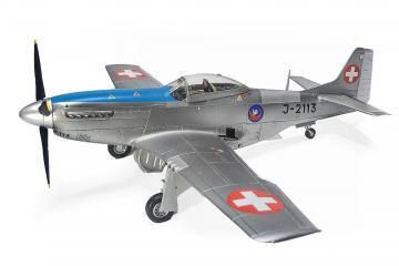Mustang P-51 D J-2113 Museum Dübendorf · ARW 881556 ·  Arwico Collector Edition · 1:72