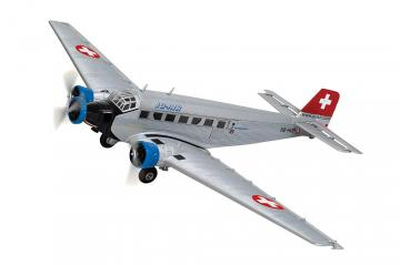 Junkers Ju 52/3 JU-AIR HB-HOP · ARW 881558 ·  Arwico Collector Edition · 1:72