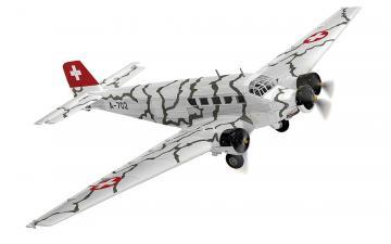 Junkers Ju 52/3 Tarnmuster A-702 · ARW 881559 ·  Arwico Collector Edition · 1:72