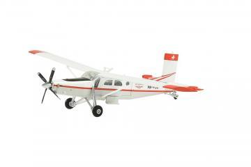 Pilatus PC-6 Turbo Porter Air-Glaciers HB-FDU Vers.2016 · ARW 881606 ·  Arwico Collector Edition · 1:72