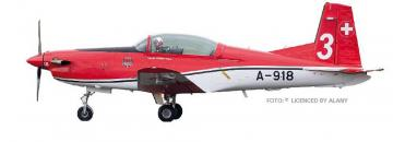 Pilatus PC-7 Team / 2 Payerne Air 14 A-917 · ARW 881702 ·  Arwico Collector Edition · 1:72